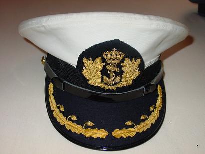 Militaria Online - Petten/Pet Hoofdofficier Marine