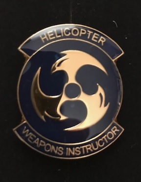 Helicopter weapons instructor
